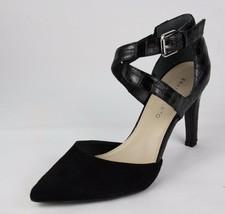 Franco Sarto Anazio Mujer Zapatillas Puntiagudo de Piel Tacón Talla 8.5M - $28.27