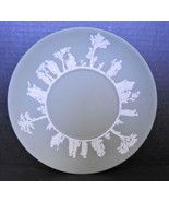 "Vintage Green Wedgwood 9 1/2"" Diameter Dinner or Cake Plate - $18.99"