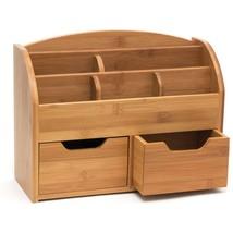 Bamboo Space Saving Desk Organizer - $35.32