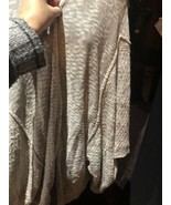 Free People Beige Kimono Sweater - $99.00