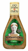 Newman's Own Caesar Salad Dressing, 16oz, Case of 6 bottles, regular - $38.99