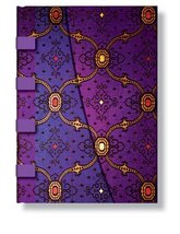 Smythe Sewn Address Books Violet Wrap [Hardcover] Paperblanks Book Company - $29.95
