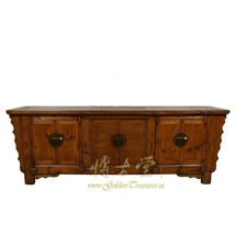 An item in the Antiques category: Antique Chinese Rustic Long Sideboard/Buffet Table, Credenza 19LP66