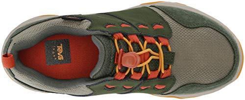 Teva Boys' Arrowood 2 Low WP Hiking Shoe, Kombu Green, 11 M US Little Kid image 7