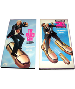 2 Leslie Nielsen VHS Movies NAKED GUN POLICE SQUAD & NAKED GUN 2½ SMELL ... - $11.99