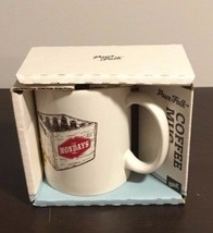 Pour Folk Coffee Cup Mug NEW MOndays 30 Watt Prop 65 - $9.94