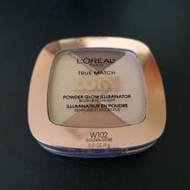 Loreal True Match Lumi Powder Glow Illuminator Blush Highlight W102 Golden New - $6.92