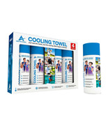NEW Arctic Cool Cooling Towel 4-pack ***FREE SHIPPING*** - $27.89
