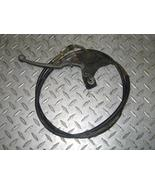 SUZUKI 1997 QUAD RUNNER 250 4X4 PARK BRAKE ASSEMBLY WITH CABLE PART 22,349 - $15.00