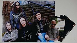 """""""Queensryche"""" Band Signed Autographed Glossy 11x14 Photo w/ Signing Photos - $128.69"""