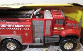 Tonka Mighty Fleet Fire Pumper Fire Truck Realistic Sounds & Lightings - $32.73