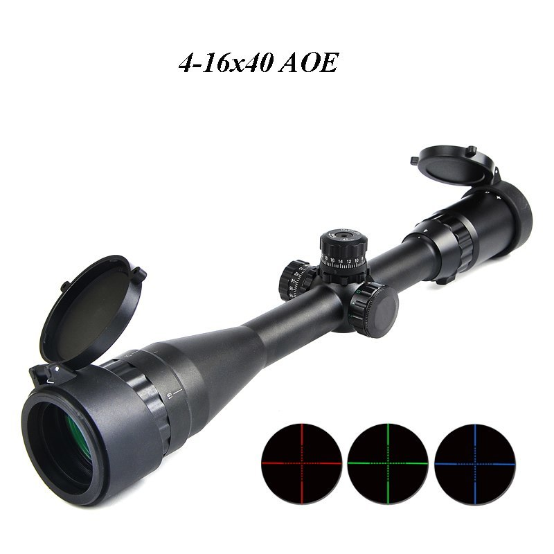 Bestsight 3-9x40 AOL Hunting Scopes 4-16x50 Rifle Sights Optic Tactical 6-24x50
