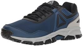 Reebok Men's Ridgerider Trail 3.0 Walking Shoe, Bunker Blue/Black/tin gr... - $60.99