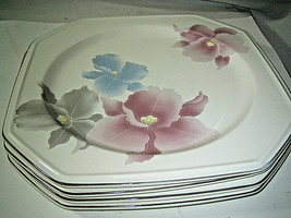 Set of 4 Mikasa Continental Beau Monde Dinner plates 10 1/4 Japan F3007 ... - $24.99
