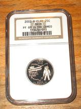 2002-S NGC - Proof 69  State Quarter ULTRA CAMEO - OHIO - $19.95