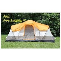 Tahoe Gear Olympia 10-Person 3-Season Tent, Ora... - $149.99