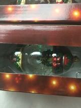 Kirkland Signature Waterglobe Ornaments Lot of 3 Christmas Tree Santa Drummer image 2