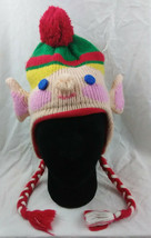 Elf Christmas Adult Tobogan Cap Beanie Green Red Arizona Brand X Mas One... - $12.37