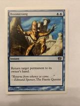 MTG Magic The Gathering Card Boomerang Instant 2003 - $0.98