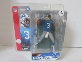MCFARLANE'S ACTION FIGURE NFL JOEY HARRINGTON DETROIT LIONS #3 SERIES 6 ... - $13.25
