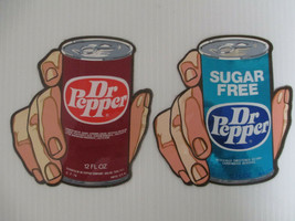 5 Sets of Two Different Dr Pepper Cocktail Paper Napkins New  FREE SHIPPING
