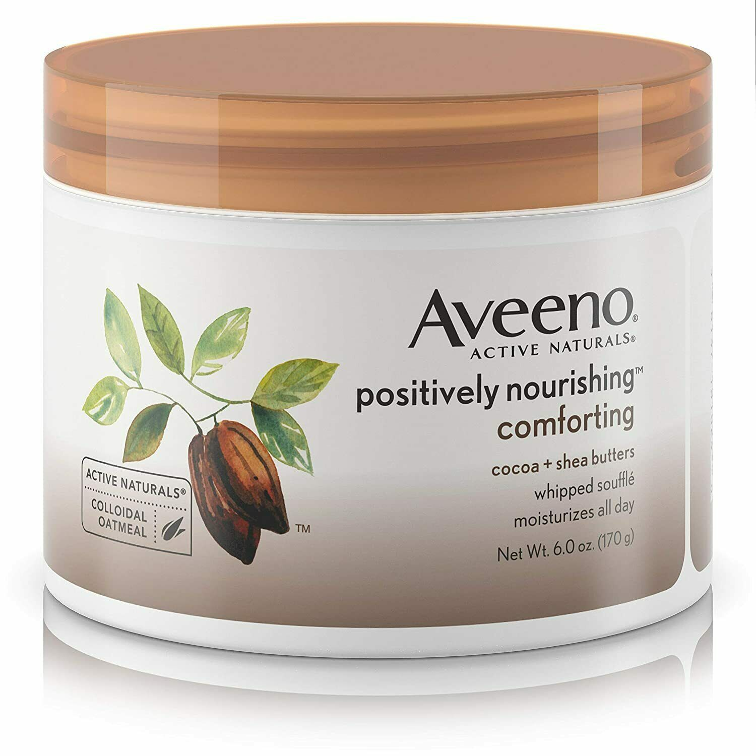 Aveeno Active Naturals Positively Nourishing Whipped Souffle Cocoa+Shea Butters - $27.99