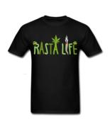 Rasta Life Cannabis Marijuana 420 T-Shirt - $23.99