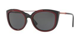 Versace Cat Eye Women's Sunglasses VE4336 525587 Back Gray Lens 56mm - $108.89