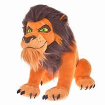 Disney Store JAPANTHE LION KING  Disney Villains  Scar pulsh doll plush ... - $74.25