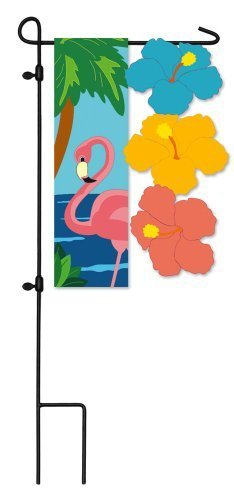 Primary image for Tropical Paradise Garden Flag