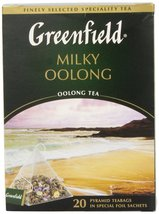 Greenfield Tea, Milky Oolong, 20 Count - $13.36