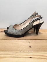 Nine West Women's Pump Heel Peep Toe Slingback NW7KAROO Size 8W NWOT - $18.50
