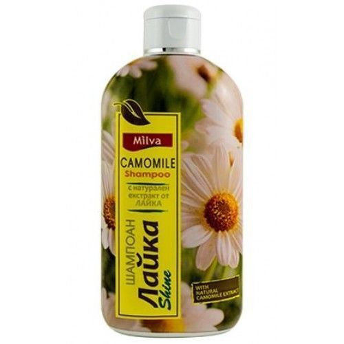 MILVA Shampoo With 100 % Natural Camomile Extract  Ultra Shine 200ml
