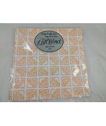 """Bible Verse Gift Wrap 2 Sheets 30"""" x 20"""" Word Inc 1983 Giftword Vintage - $6.45"""