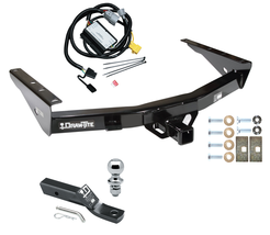 Trailer Tow Hitch For 01-02 Toyota Tundra Complete Package w/ Wiring 1-7... - $226.86