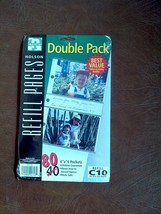 """New Holson Refil Pages 4""""x 6"""" Photo 80 Pockets refill C10 - $12.82"""