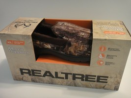 Realtree Xtra Mens Camo / Brown Slippers Size XL 11-12 Memory Foam - $28.01