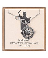 IEFLIFE Graduation Gifts for Her - Infinity Compass Necklace Friendship ... - $17.80