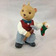 Hallmark Keepsake The Bearingers Papa Bearinger Bear Christmas Ornament ... - $6.79