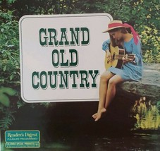 Vintage ~ 1974 ~ Grand Old Country ~ 96 All Time Favorites ~ 8 Record Al... - $75.00