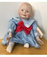 "Amanda Sailor Girl Edwin Knowles Ashton Drake Porcelain Doll 12"" Yolanda... - $11.29"