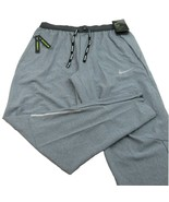 Nike Phenom Elite Running Gym Pants Size Large Mens Grey NEW BV4815-070 - $79.15
