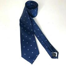 Van Heusen Mens Necktie Blue Polyester - $10.31