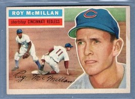 Vintage MLB 1956 TOPPS #123 ROY MCMILLAN (GB) VG-EX  - $9.50