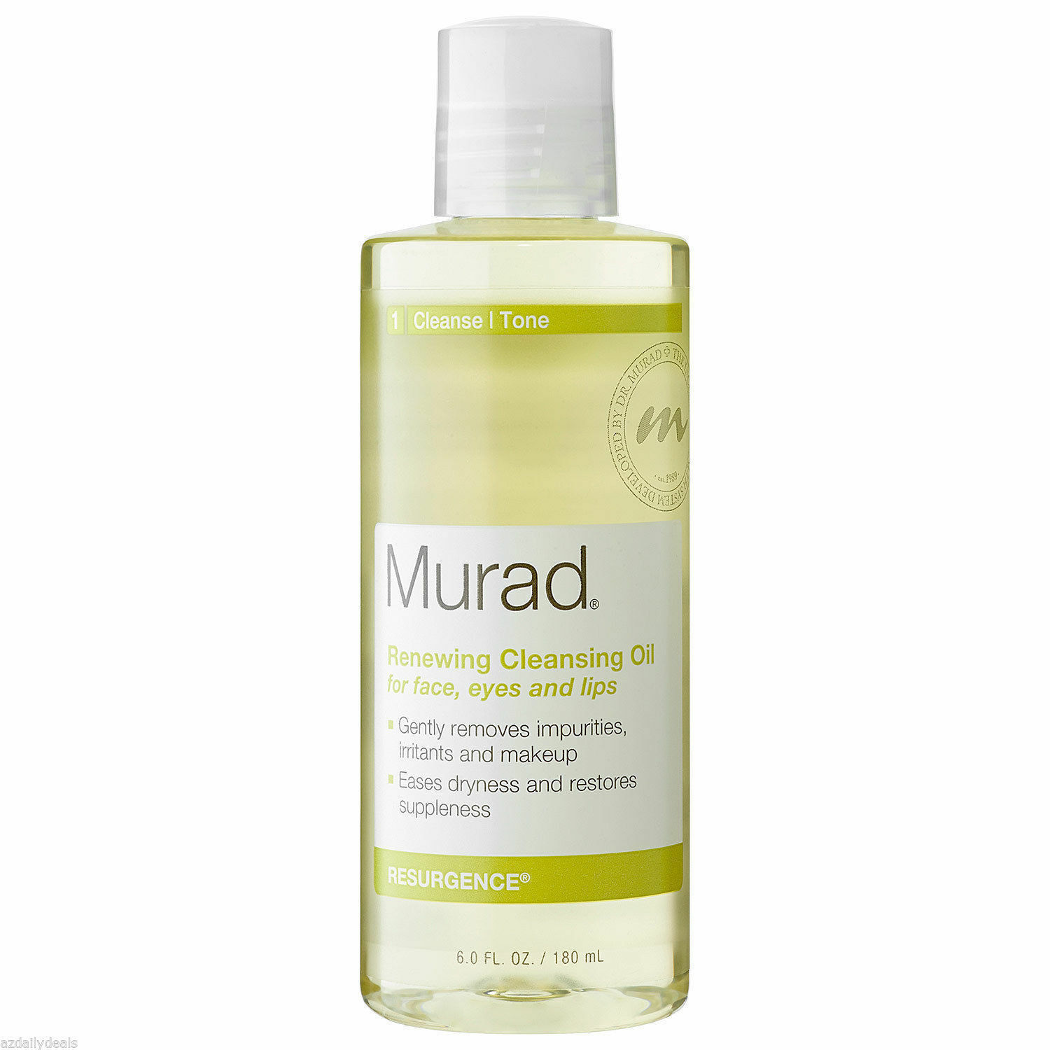 Murad Renewing Cleansing Oil for Face Eyes & Lips 6 oz - $19.79