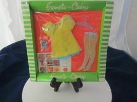 VINTAGE 1969 BARBIE DOLL -FRANCIE AND CASEY #1223 THE YELLOW BIT OUTFIT ... - $325.00