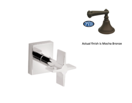 California Faucets TO-72-W Aliso Wall Or Deck Handle Trim Only in Mocha Bronze - $113.85