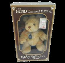 Vintage 1985 GUND Collectionneurs Ours Marron Nounours Animal en Peluche Boîte - $45.47