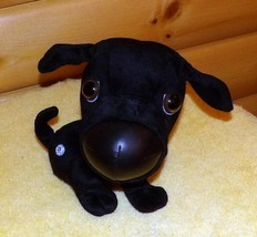 "THE DOG Black Lab Plush 9"" Artist Collection Labrador Needs Rescue Adopt... - $5.89"