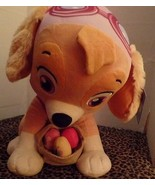 Paw Patro Plushl Sky Easter Greeter Puppy Dog Easter Basket Eggs NEW - $39.99